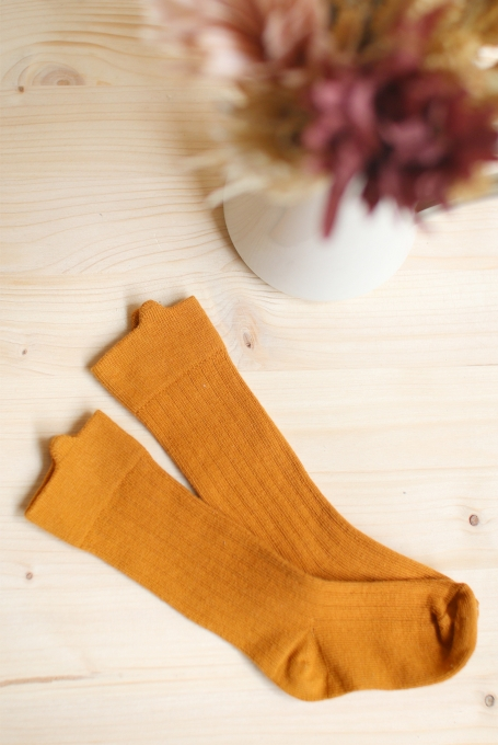 Chaussettes hautes à oreilles