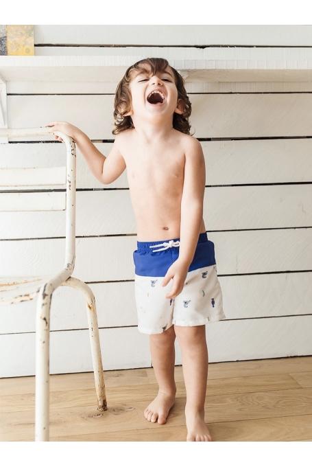 Maillot de bain garçon avec couche intégrée